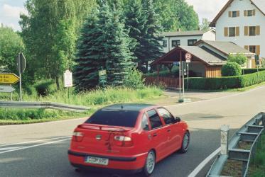 Abzweig Hartensteine Straße/Wiesenweg